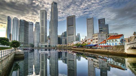 City Landscape wallpaper singapore - Download Hd City