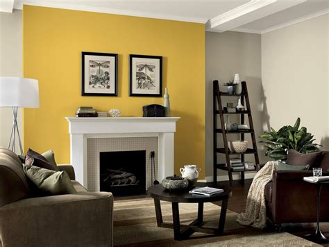 yellow painted living rooms zion star
