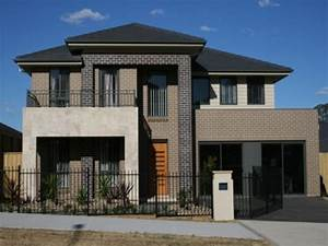 Face brick house designs, house designs front view modern ...