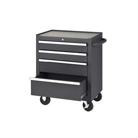 Four Drawer Rolling Tool Cabinet Garage Storage Wheels
