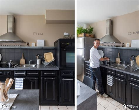 cuisine gris noir cuisine noir mat et bois cuisine noir mat ikea