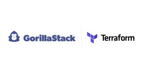 terraform provider  gorillastack