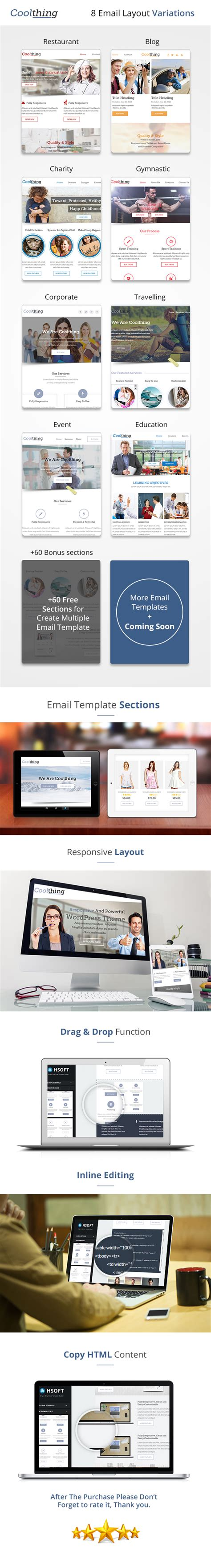 email template builder business email template by kamleshyadav themeforest