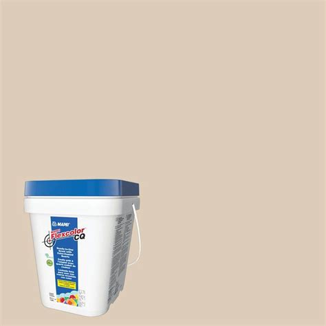 almond grout mapei flexcolor cq light almond 1 2 gal grout 4ka004902 the home depot