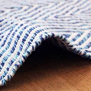 Teppich 400 X 400 : kayoom teppich cocktail 400 blau l x b 230 x 160 cm 100 baumwolle 6666 abgepasste ~ Orissabook.com Haus und Dekorationen