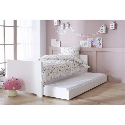 lit enfant blanc  option gigogne alfred  compagnie