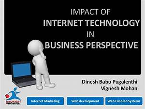 Impact of information technology in business perspective