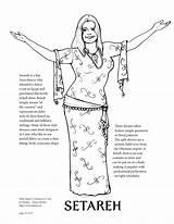 Davina Coloring Belly Dancers Dance sketch template