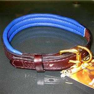 perri39s amish made soft padded leather dog collar hand With perri dog collar