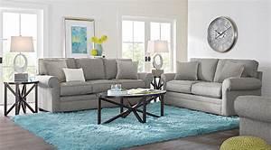 Cindy Crawford Home Bellingham Gray 7 Pc Living Room ...