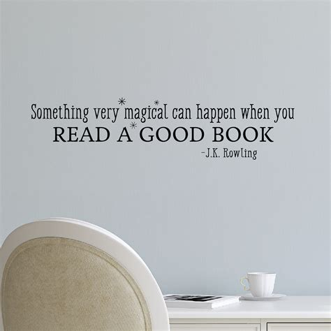 read  good book wall quotes decal wallquotescom