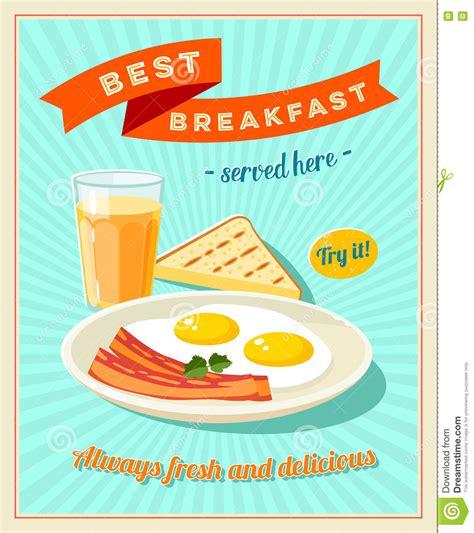 affiche vintage cuisine retro vintage fast food poster best free home design