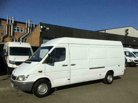 Mercedes benz sprinter lwb luton van with tail lift and roller shutter door. 2003 53 MERCEDES-BENZ SPRINTER 2.2 311CDI LWB HIGH ROOF 109BHP. LAST OWNER FOR 1 | in Wigston ...