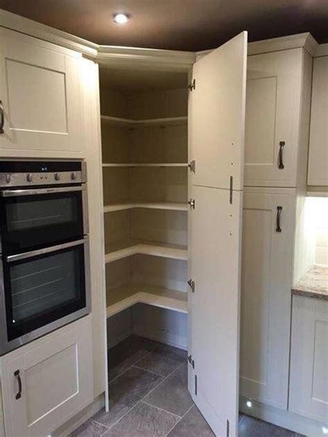 Corner Pantry Cabinet Ideas Gorgeous Corner Cabinet Storage Ideas For Your Kitchen 36