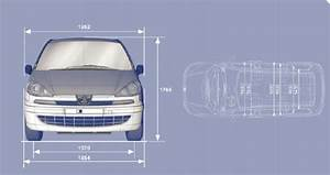 Manuel Du Conducteur Peugeot 807  Dimensions