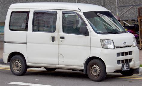 Daihatsu Hijet by File 2007 Daihatsu Hijet Front Jpg Wikimedia Commons