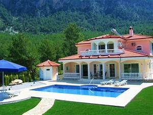 ferienhaus dalaman mit terrasse oder balkon fur bis zu 4 With französischer balkon mit whirlpool garten 6 personen