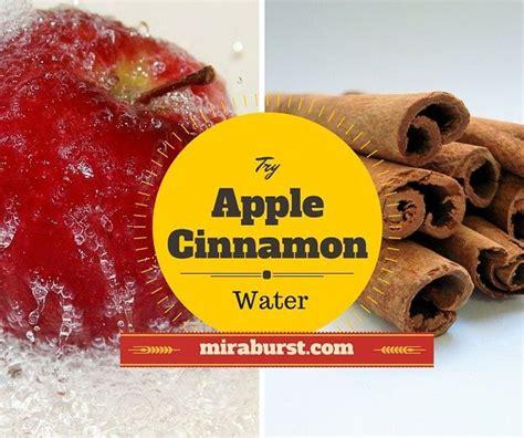 Apple Cinnamon Water | Apple cinnamon water, Cinnamon ...