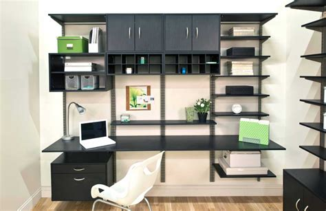 Home Office Shelving Solutions With Adjustable Shelves