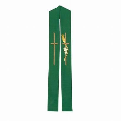Stole Overlay Catholic Wheat Cross