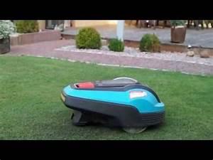 Gardena Rasenmäher Roboter : gardena rasenm her roboter r70li youtube ~ Frokenaadalensverden.com Haus und Dekorationen