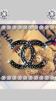 Chanel glitter   携帯電話の壁紙, クォーツクリスタル, 壁紙