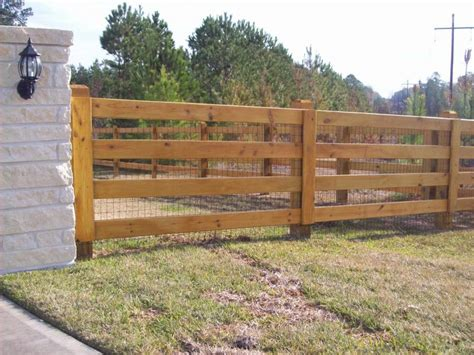 style fencing ranch style wood fence designs