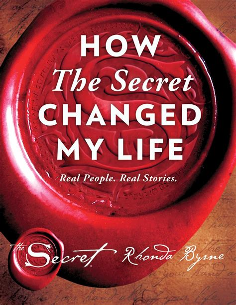 secret changed  life book  rhonda byrne