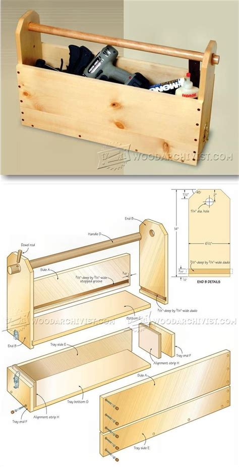 easy  build toolbox plans workshop solutions projects