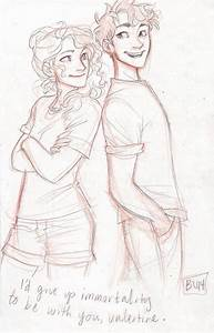 New Percabeth by Burdge! | Im really a Half-Blood. | Pinterest