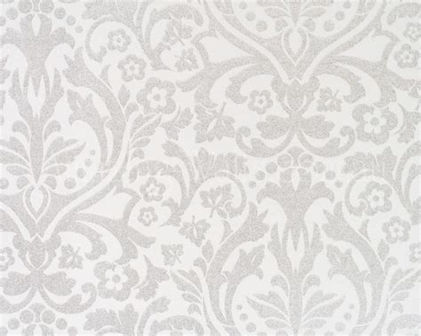 White And Silver Metallic Wallpaper Wallpapersafari