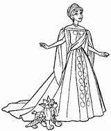 Coloring Anastasia Pages Ball Princess Gown Gowns Colouring Disney Drawing Dog Ariel Drawings Getdrawings Adult Coloringhome Popular sketch template