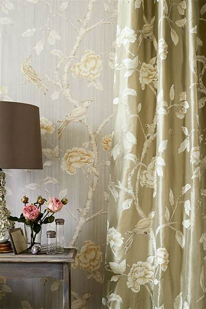 Zoffany Fabric Interior Silk Woodville Curtain Fabrics