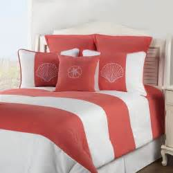 shell island coral comforter sets by victor mill free shipping