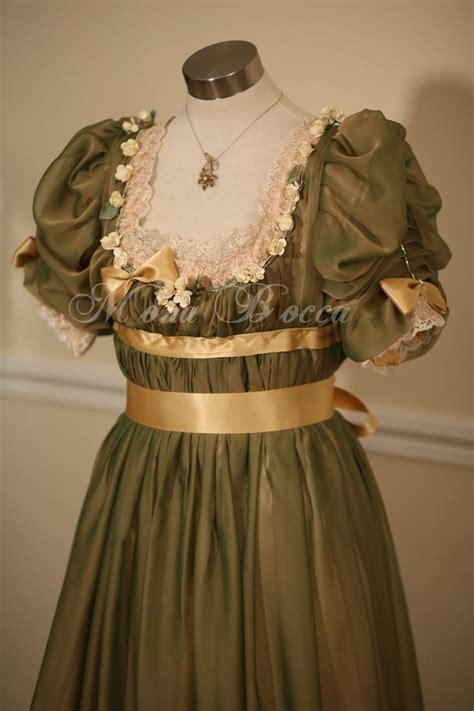 edwardian evening dress handmade  england mona bocca