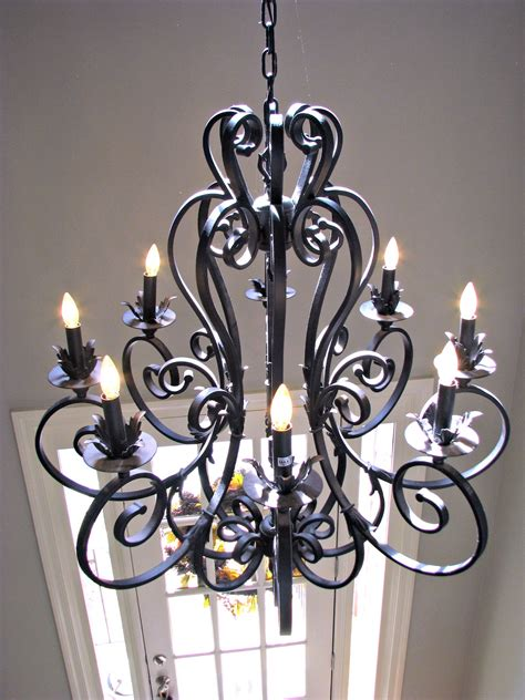 and iron chandeliers homemadeville your place for inspiration home