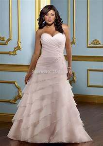 blush pink plus size wedding gowns 2015 sweetheart With pink plus size wedding dresses