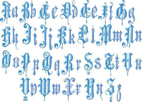 vintage english font   upper   case machine embroider bling sass sparkle