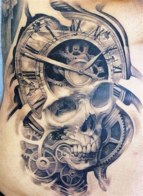 totenkopf ideen und symbolik tattoos zenideen