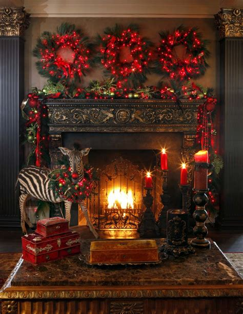 christmas mantel images 50 absolutely fabulous christmas mantel decorating ideas