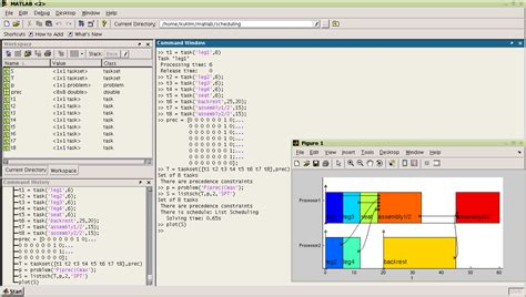 TORSCHE Scheduling Toolbox for Matlab - Screenshots