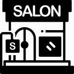Salon Beauty Icon Icons Barbershop Glamour Cosmetics
