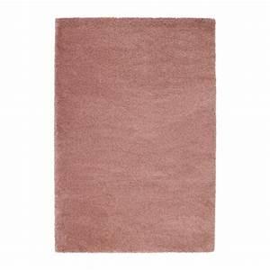 adum tapis poils hauts brun clair rose 133x195 cm ikea With tapis rose clair