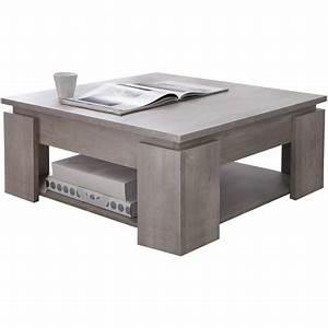 Table Basse Auchan : table basse carr e seguro l80x80cm pas cher prix auchan ~ Teatrodelosmanantiales.com Idées de Décoration