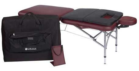 nirvana 2n1 massage table package dharma super lite massage table package