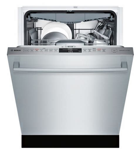Bar Dishwasher by Shx68t55uc Bosch 800 Series 24 Quot Bar Handle Dishwasher With