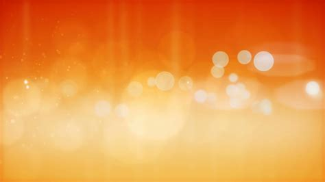 Orange Backgrounds Abstract Orange Particles Background Motion Background