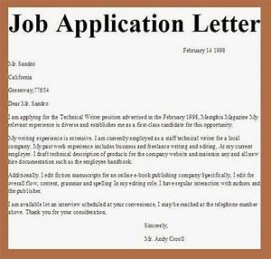 98 best application letter images on pinterest resume With job mailing letters from home