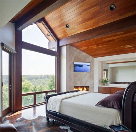 modern rooms   forest view