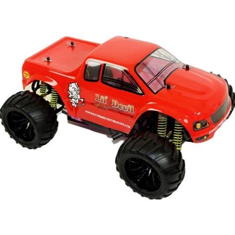 monster trucks nitro 1 10 nitro rc monster truck lil devil